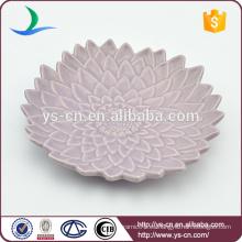 Placa decorativa de cerámica colorida al por mayor