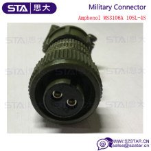 Replace Amphenol Connector MS3106A10SL-4S 2PIN Military Connector