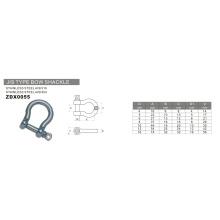 Hardware Aço Inoxidável JIS Tipo Shackle Bow