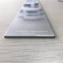 3003 micro tube de canal en aluminium pour échangeur de chaleur