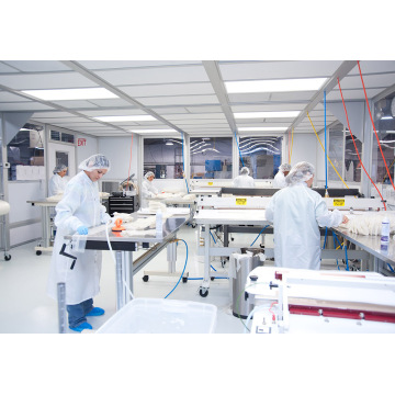 ISO 7 modulaire gmp cleanroom
