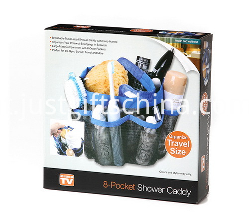 600D Bathroom Waterproof Hanging Toiletry Organizers - 600D Polyester