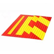 Рекламный перфоманс Дизайн 3 м. Светоотражающий материал и алюминиевый лист