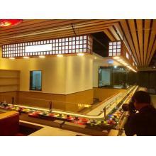 Aparência de moda Rotary Sushi Conveyor Belt