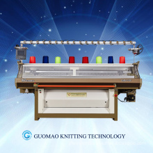 Full fashion automatic computerized shoe upper knitting machine