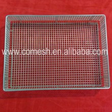 Stainless Steel Wire Mesh Storage Basket