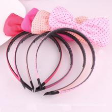 Шифоновый повязка для волос с луковыми бантами для волос (HOOP-06)