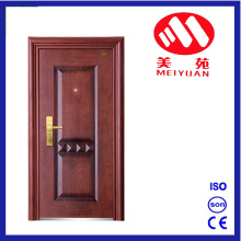 2017 New Metal Panit Steel Security House Door for Exterior