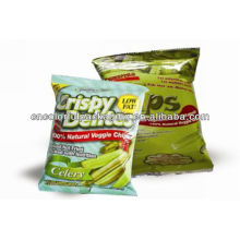 potato chips snack foods bag/potato chips packaging bag/heat seal bags