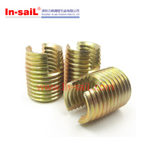 China Hot Sale Supplier Steel Zinc Ensat Threaded Insert Manufacturer
