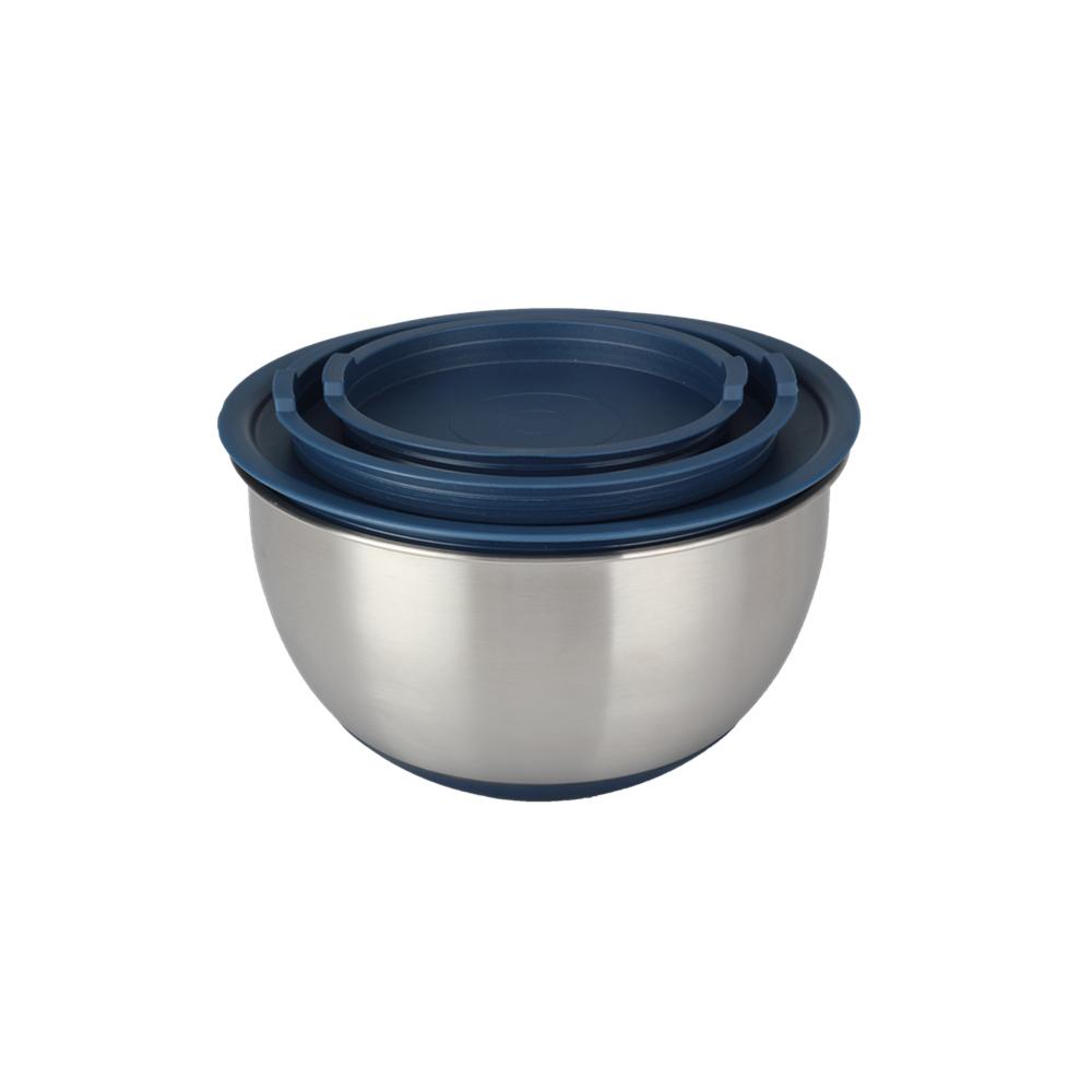 Non Slip Bottom Salad Bowl Set