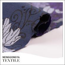 Tejido de cortina de tela poli jacquard elegante hecho a medida al por mayor