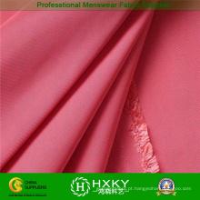Tecido de sarja brilhante memória tecido algodão roupas quentes