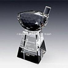 Кристалл Гольф Трофей Награда Драйвер 1020