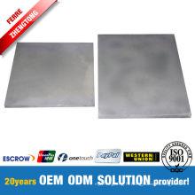 Plaque résistante à la corrosion de carbure de tungstène fritté