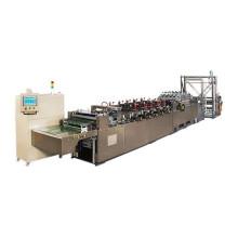 Drei Seitenbeutel, der Maschinen herstellt
