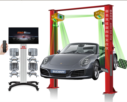 Wheel Alignment for Measurement