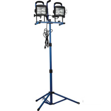 1000 Watt Halogen 2-N-1 Twin Head Tripod Work Light (CGC-WL14)