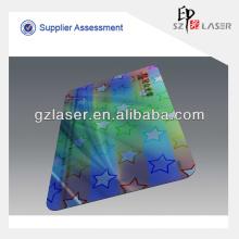 Hologramm transparente Laminierfolie für PVC-ID-Karte