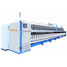 Máquina de hilar a rotor para lana de oveja