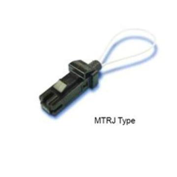 Cabo de remendo traseiro do laço da fibra óptica com conector de MTRJ