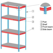 Selling well Good quality industrial storage light duty racking