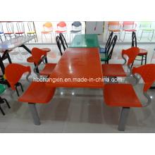 Mesa de plástico Fast-Food e cadeira (CX-LH9080)