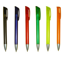 Twistable Ball Pen Six Colored