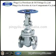 Class 300 A216 flange ANSI standard gate valve amc