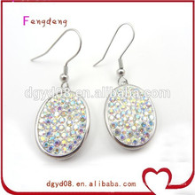Fashion 2015 new design crystal earring