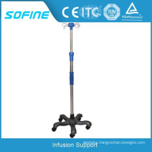 Hospital Drip Stand Portable IV Poles Infusion Support