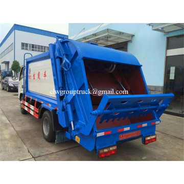 Mini 3 Ton Compactor Small Garbage Truck