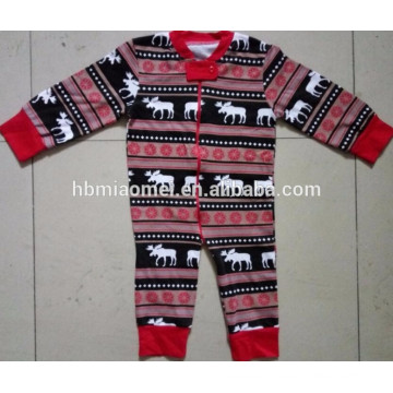 2016 hot sale infant baby christmas pajamas family pajamas christmas in infant , children and adult size