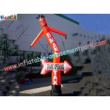 Custom Advertising Inflatables Air Dancer Rip-stop Nylon Parachute Material For Festival