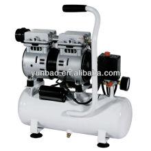compresor de aire médico portátil de poco ruido sin aceite