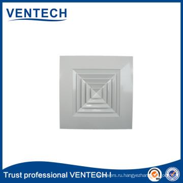Систем кондиционирования, вентиляции настенный поставляем Алюминиевый пол диффузор