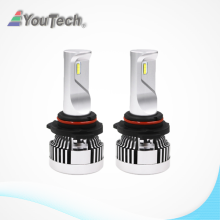 H8 H4 warm white LED leadlight
