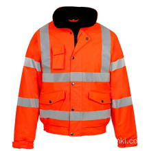 Hi Viz Waterproof Workwear Security Jacket