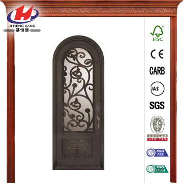 Painted Oil Rubbed Bronze Decorative  Front Door