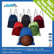 2015 Children Sport Mesh Drawstring Bag Backpack