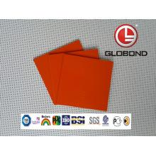 Flourocarbon Coated Aluminium Composite Panel (PF-422 Silver Metallic)