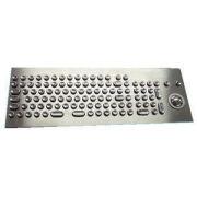 106 Keys Kiosk Metal Keyboard, Industrial Computer Keyboard Customized