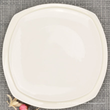 Square Bone China Porcelain Dinnerware (set)