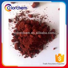 pigmento vermelho óxido de ferro 120 fe2o3 para o concreto