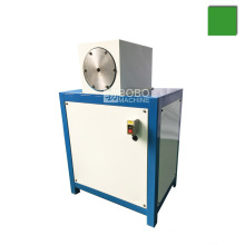 Cheap and portable evaporator pipe end narrowing machine