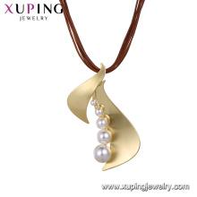 collier-00625 collier de femmes de bijoux de luxe xuping pendentif perle d'imitation