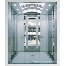 Ascensor de pasajeros MRL con máquina sin engranajes PM