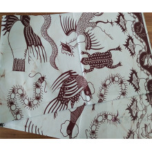 Wax Prints Fabric For Woman Dress
