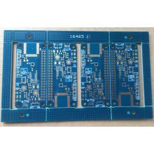 4 layer 1.6mm blue solder ENIG PCB