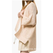 Fashion Design Long Knit Coat